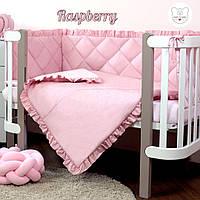 Macaroon Raspberry Baby Veres  постельный комплект для новорожденных, фото 1