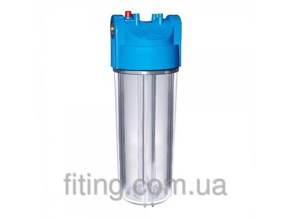 """Фільтр-колба Bio+ systems SLB10-2K LUX 2-х комп. 3/4"""" + ключ, планка + шнурковый картридж 60мм, фото 2"""