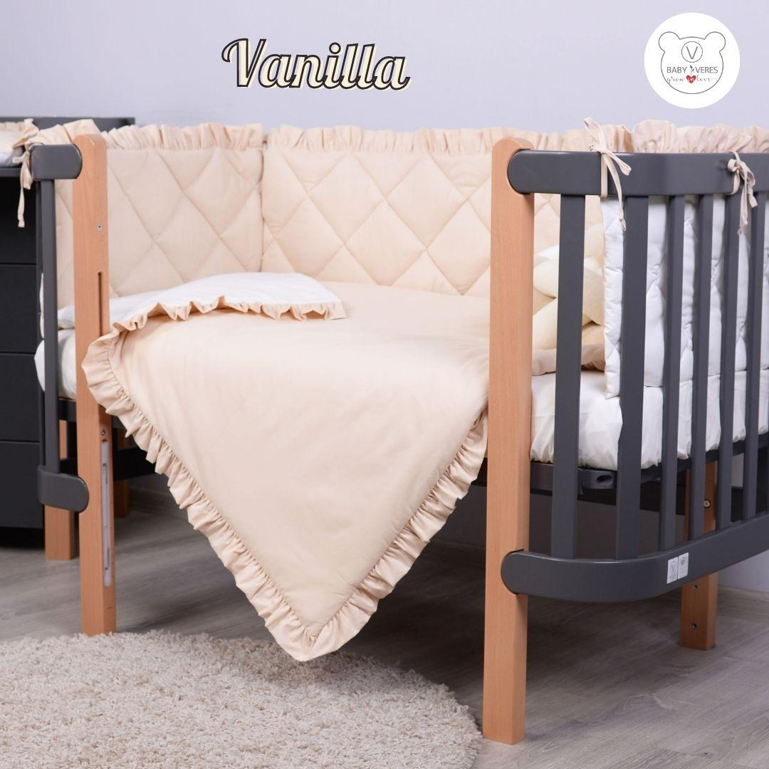 Macaroon  Vanilla Baby Veres  постельный комплект для новорожденных