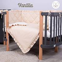 Macaroon  Vanilla Baby Veres  постельный комплект для новорожденных, фото 1