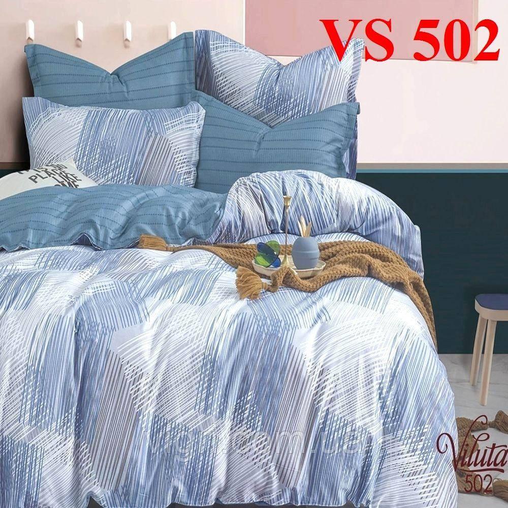 Постельное белье, семейный комплект, сатин, Вилюта «Viluta» VS 502