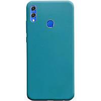 Силиконовый чехол Candy для Huawei Honor 8X Синий / Powder Blue