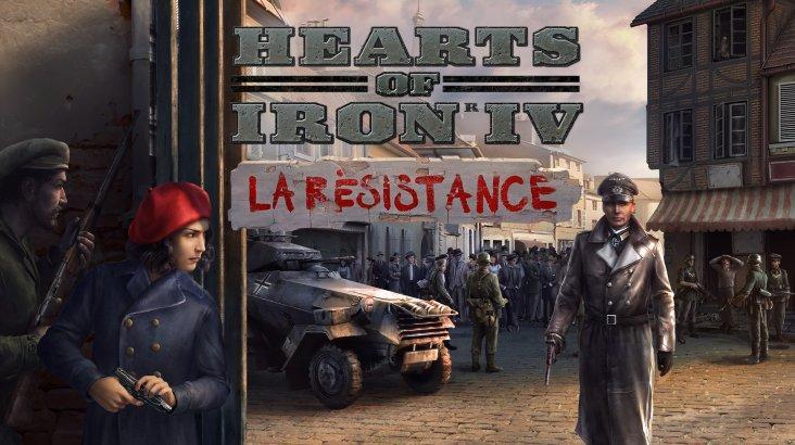 Hearts of Iron IV: La Résistance ключ активации ПК