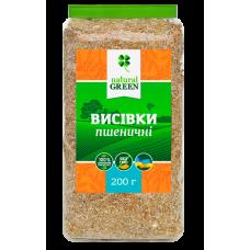 Отруби пшеничные,  250 грамм, Natural Green