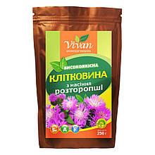 Клітковина насіння розторопші, Vivan, 250г