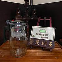 Набор чайник Гунфу + шу пуэр Power Puer фабрики Ча Шу Ван