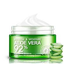 Многофункциональный крем для лица Bioaqua с экстрактом алое вера Refresh & Moisture Aloe Vera 92% Cream, 50г
