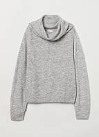 Свитер женский H&M (размер L) серый