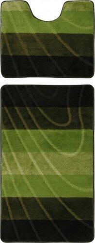 Набор ковриков Doriana ColorLine 6695 Зеленый