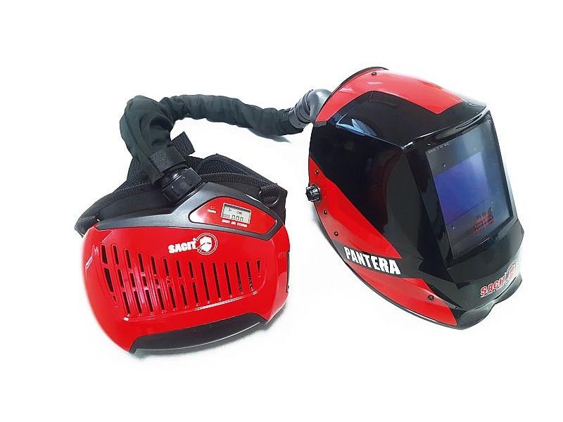 Сварочная маска PANTERA с блоком подачи воздуха