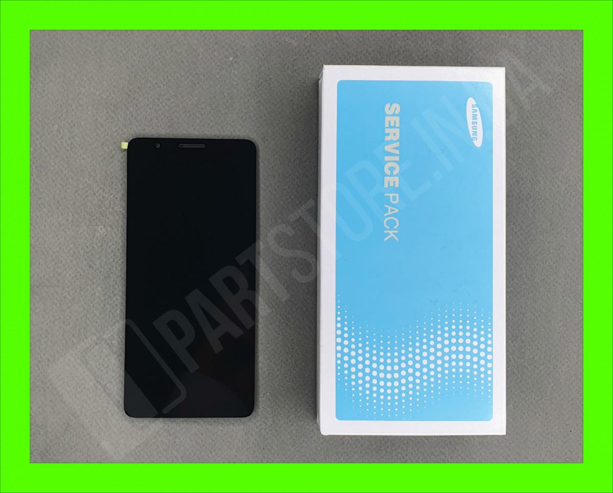 Дисплей Samsung А01 Core А013 2020 (GH82-23392A) сервисный оригинал (без рамки)
