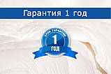 Одеяло силиконовое белое, размер 180 х 215 см, зимнее плюс, фото 2