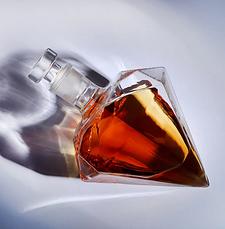 Графин 1000 мл, декантер для алкогольных напитков в форме бриллианта, фото 3