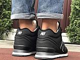 Мужские кроссовки New Balance 574 черные зимние (New Balance 574 зимові чоловічі), фото 3