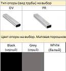 Стілець N-46 сірий Vetro Mebel, вельвет + фарбований метал, фото 3