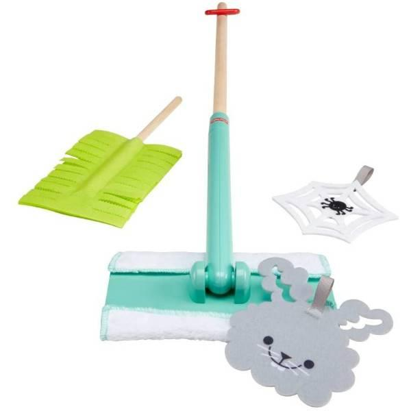 Fisher-Price Набор для уборки GGT64 Clean-up and Dust Set