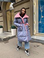 Зимнее пальто двустороннее К 0012 с 02
