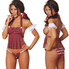 Эротический костюм школьницы Студентка сексуальное белье эротическое белье
