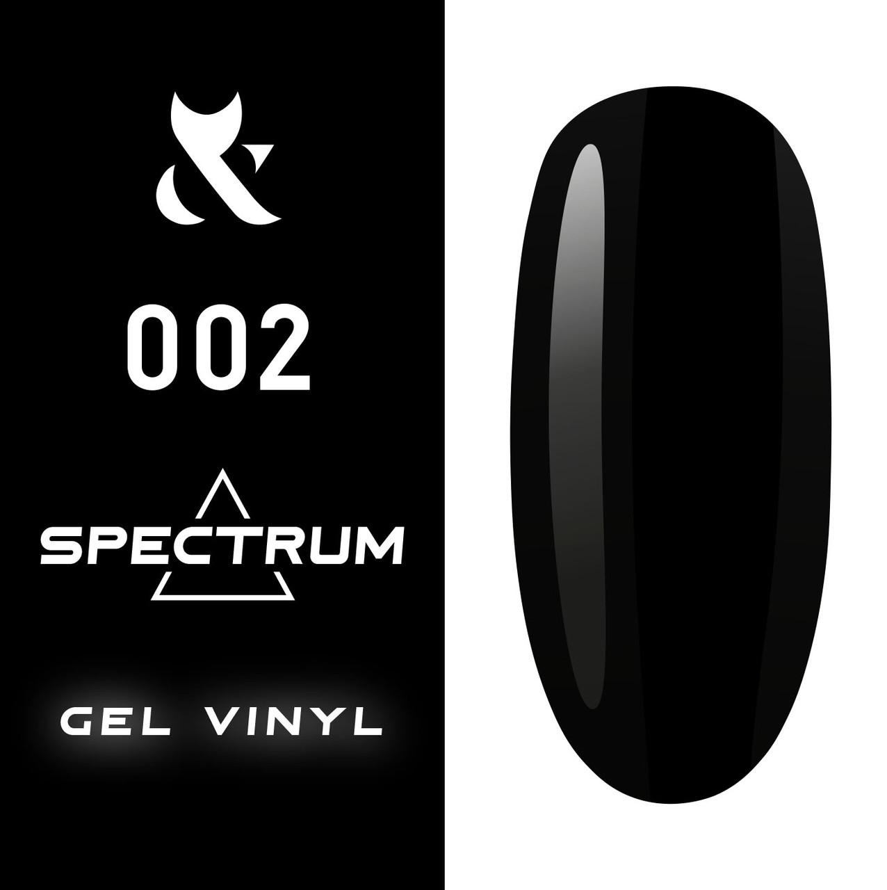 Гель-лак F.O.X Spectrum Gel Vinyl 7 мл № 002, 7мл