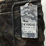 Зимние мужские джинсы, р. 30 последние теплые карго на флисе Vingvgs Камуфляж, фото 3