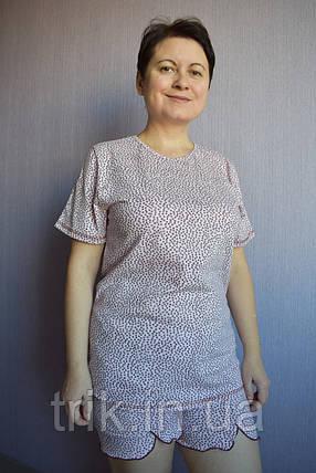 Пижама женская с шортами, фото 2