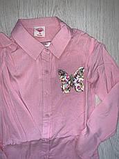 Рубашки-туника для девочек, Glo-Story, в наличии 110 рост., фото 2