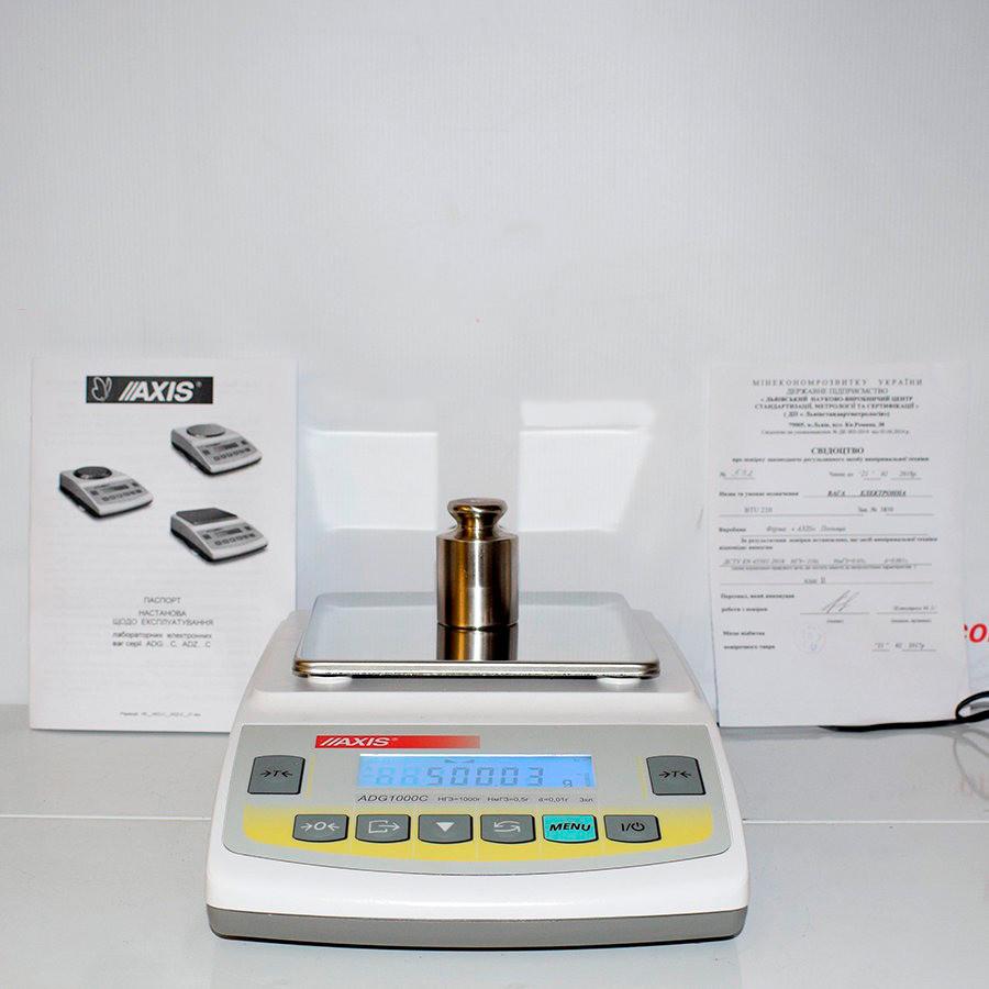 Весы лабораторные ADG2200С (АХIS)