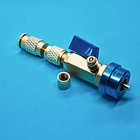 Заправна муфта для заміни золотника під тиском з ниппилем для дозаправки VC 038 В (низький тиск )