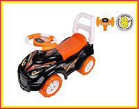 """Машинка Толокар Беговел """"Автомобиль для прогулок ТехноК"""" арт.6672 (оранж)"""