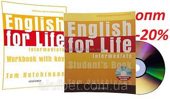 Английский язык / English for Life / Student's+Workbook+CD. Учебник+Тетрадь (комплект), Intermediate / Oxford