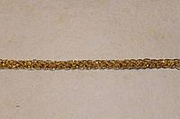 Тесьма декоративная люрекс золото  6174