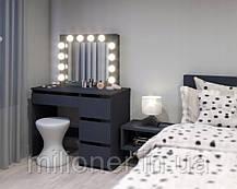 Туалетный столик Bonro- B071 серый, фото 2