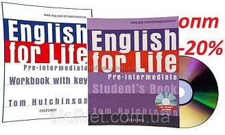 Английский язык / English for Life / Student's+Workbook. Учебник+Тетрадь (комплект), Pre-Intermediate / Oxford