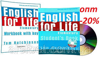 Английский язык / English for Life / Student's+Workbook+CD. Учебник+Тетрадь (комплект), Elementary / Oxford