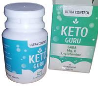 Keto Guru Шипучие таблетки для похудения Кето Гуро 10 таблеток Кето Гуру снижение веса