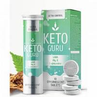 Keto Guru Plus Шипучие таблетки для похудения Кето Гуро Плюс 20 таблеток Кето Гуру Плюс снижение веса