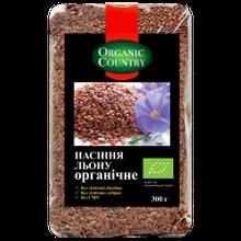 Семена льна органические ORGANIC COUNTRY 300г