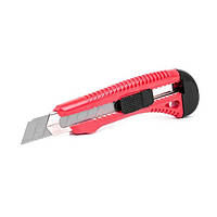 Нож прорезной усиленный с отломным лезвием—18 мм Intertool HT—0501