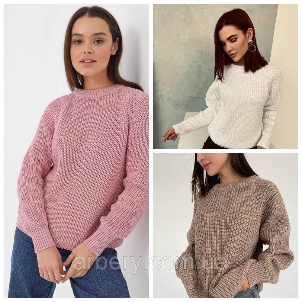 Шикарный вязанный свитер Oversize