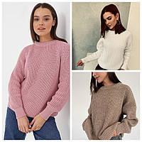 Шикарный вязанный свитер Oversize, фото 1