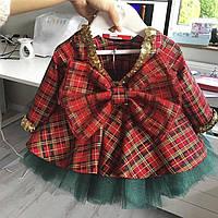 Красивое нарядное новогоднее платье для девочки
