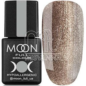 Гель лак MOON FULL color Gel polish, 8 мл №321 бронзовый с блестками