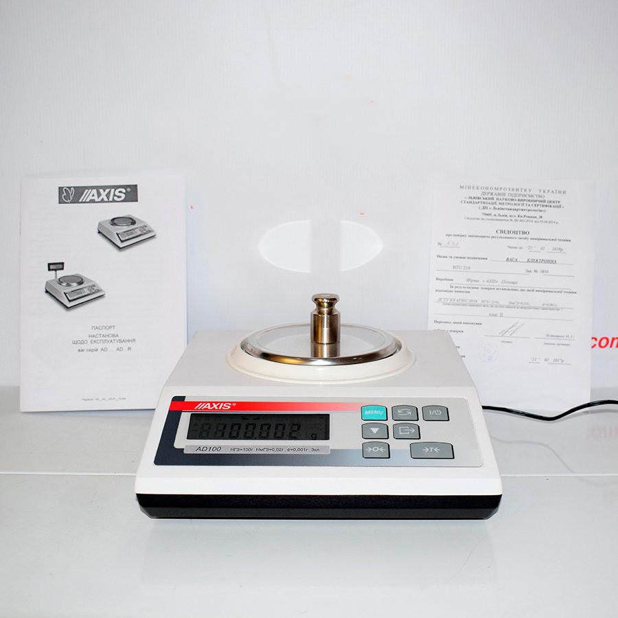 Весы лабораторные AD520 (АХIS)