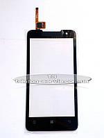 Сенсорный экран для Lenovo P770, черный