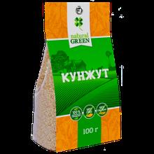 Кунжут белый, NATURAL GREEN 100грам