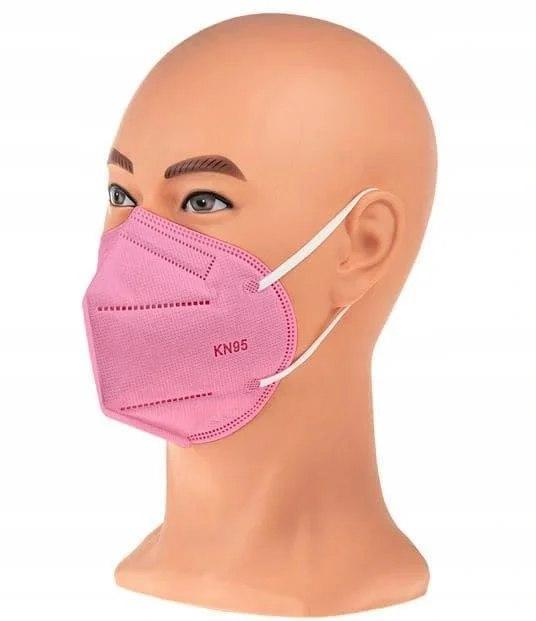 Респиратор ffp2/KN95, цвет розовый