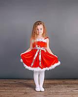 Карнавальный костюм внучки Санта Клауса