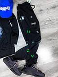 Мужской спортивный костюм KENZO Paris D10151 черный, фото 2