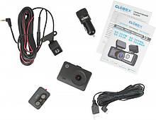 Видеорегистратор Globex GE-305WGR (WiFi+GPS+Rear cam)