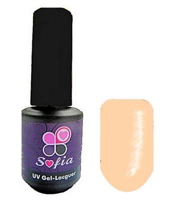 Гель -лак №82 UV Gel-Lacguer SOFIA 8.6 мл США ( пудра с легким персиково крайоловым оттенком)